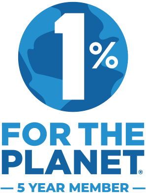 1% for the Planet - 5 Jahre Mitgliedschaft
